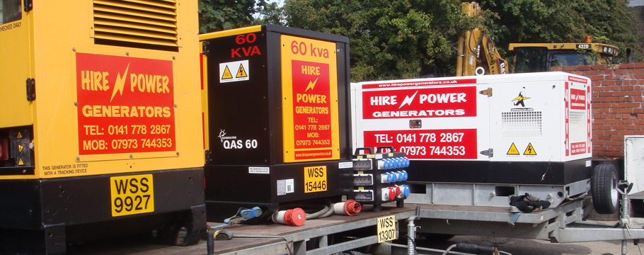Generators For Events | Generator Hire Edinburgh | Generators Scotland